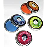 Crazy Aarons Thinking Putty Hypercolor Mini Tin Set (3) With Free Electric Ruby