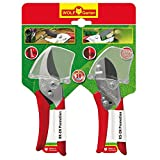 WOLF GARTEN Anvil & Bypass Pruner/Secateur/Garden Shear Set RR-EN+RS-EN