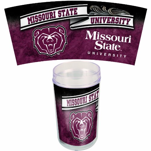 NCAA Missouri State 16-Ounce 4-Pack Tumblers