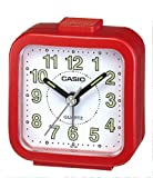 Casio TQ141/4 Beep Alarm Clock, Red