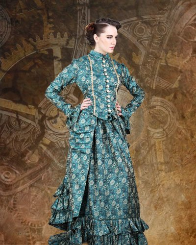 ThePirateDressing Steampunk Victorian Duchess Judith Blouse (Small)