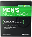 Natures Bounty Men's Multi Pack Supplement, 30 Count