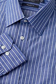 Dri-Guard&#8482; Pure Cotton Bold Striped Shirt