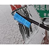 26-Snow-Brush-and-Ice-Scraper-with-Foam-Grip-for-Trucks-Vans-SUVs-and-Other-Cars