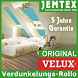 Original VELUX Blackout Blind for GGL / GPL / GHL / GTL CK02 in Fabric Colour 3011 / Mint with channels in aluminium / DKL CK02 3011S - also suitable for GGU / GPU / GHU / GTU - Size CK02