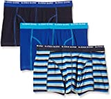 Bjorn Borg Men's 3-Pack Stripe Boxer Brief, Mood Indigo, X-Large