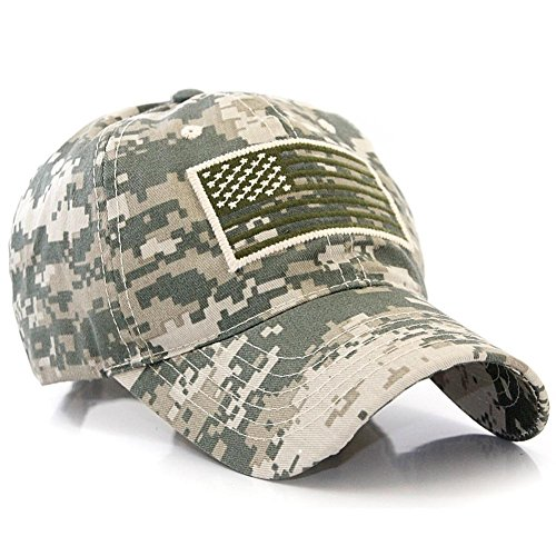 US Flag Patch Tactical Style Baseball Cap Hat Multicam (Digital Hat compare prices)