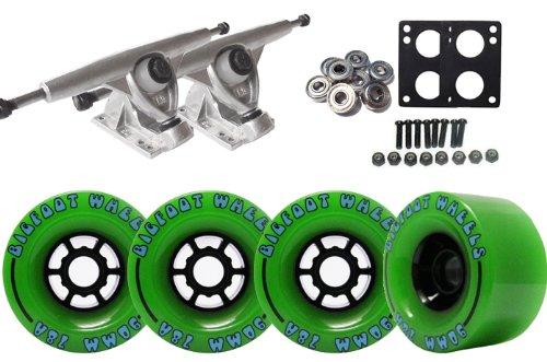 Randal 180 LONGBOARD TRUCKS Package 90mm BIGFOOT Wheels