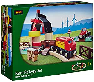 BRIO BRI-33719 Rail Farm Railway Set