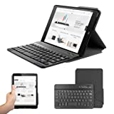 Anker® TC810 Ultra-Slim Folio Bluetooth Keyboard Case for iPad mini / iPad mini with Retina Display - Smart Case and Magnetically Detachable Keyboard (Tuxedo-black)