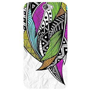 Zeerow 1018AN Mobile Back Cover for HTC A9