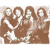 """Van Halen Group 11"""" X 14"""" Sepia Poster"""