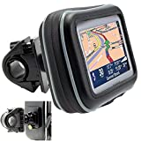 ChargerCity Universal Motorcycle/Bike Mount with Water Resistant Case for 5