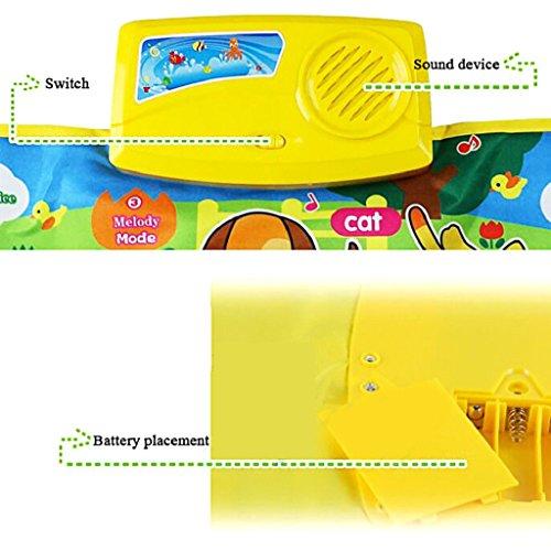 Baby-ToyNew-Touch-Play-Keyboard-Music-Singing-Gym-Carpet-Mat-GiftLaimeng