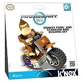 マリオカート ブロック ビルディングセット Mario Kart Wii Bike Building Set  ドンキーコングとスタンダードバイク