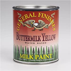 Buttermilk Yellow Milk Paint, Pint