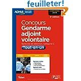 Concours Gendarme adjoint volontaire - Tout-en-un - Catégorie C Admis