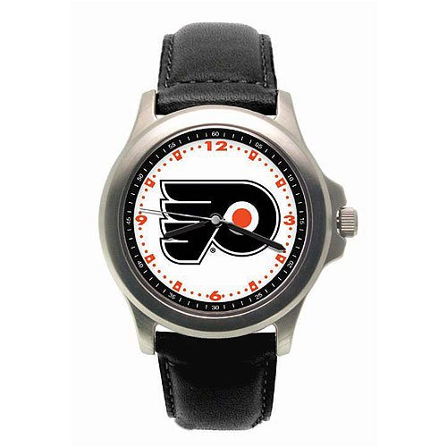 LogoArt Philadelphia Flyers Men's Leather Rookie
