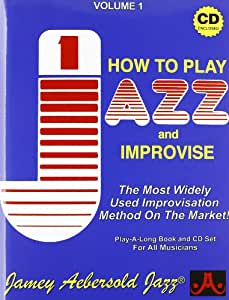How to play Jazz and Improvise [Book & CD set]