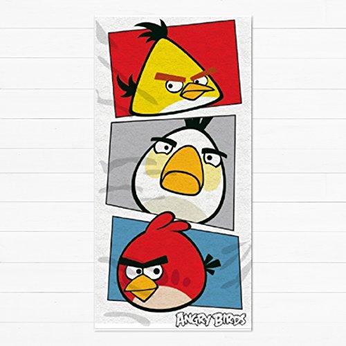 Angry Birds per bambini/bambini Ufficiale Telo da spiaggia, Multi-Colour, N/A