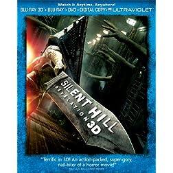 Silent Hill: Revelation 3D (Three-Disc Combo Pack: Blu-ray 3D + Blu-ray + DVD + Digital Copy + UltraViolet)