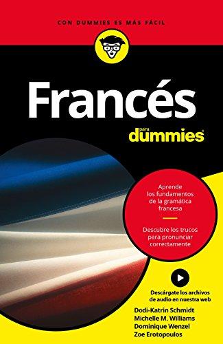 Portada del libro Francés para Dummies de Dominique Wenzel, Michele M. Williams, Dodi-Katrin Schmidt