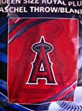 Los Angeles Of Anaheim Angels MLB Queen Size Blanket at Amazon.com