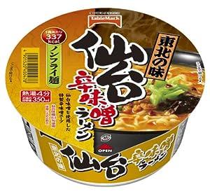 テーブルマーク 東北ご当地仙台辛味噌ラーメン 106g×12個