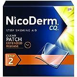 NicoDerm CQ Clear Nicotine Patch 14 milligram (Step 2) Stop Smoking Aid 14 count