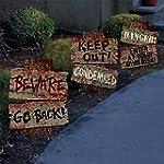 Set of 3- Halloween Cemetery Sidewalk...