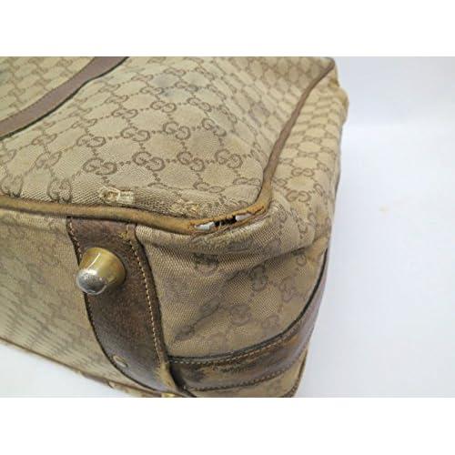 [グッチ]GUCCIスーツケース・トランク GGキャンバス ブラウンGG(UJ104880)[中古]