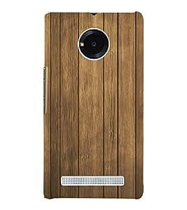 Old wood Stripes Background 3D Hard Polycarbonate Designer Back Case Cover for YU Yunique