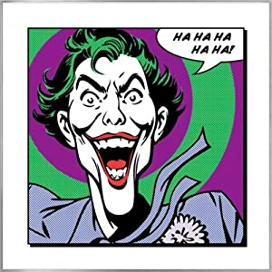 Amazon.com: Batman: The Joker - Framed Retro Style Comic
