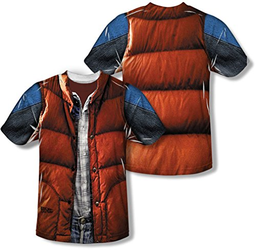 Back to the Future 80 SyFy Marty's Red Vest Costume