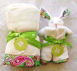 Amazon Com Vera Bradley Baby Plush Blanket And Lovey