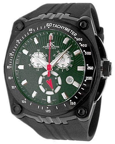 Adee Kaye Ak6002-mipbgrn Sport Chronograph Mens Watch