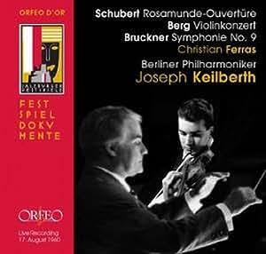 Roasmunde Overture/Violin Concerto/Symphony No. 9