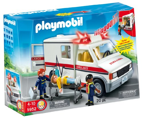 Playmobil Rescue Ambulance front-1056396