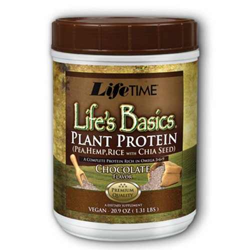 Lifetime Life's Basics Plant Protein Chocolate, 1.22-Pound