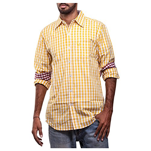 Polo Urban Polo Club Yellow Multicolored Shirt - Full Sleeve