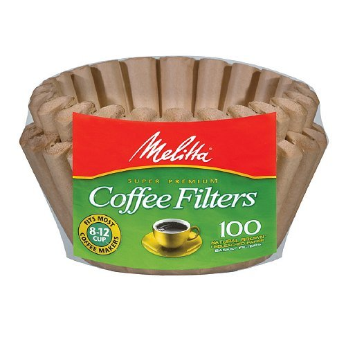 Melitta Coffee Filters Natural Brown,8-12 Count(Multi Pack) (200)