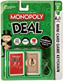 Monopoly Deal Mini Card Game Keychain by BF