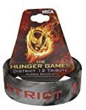 The Hunger Games Movie Rubber Bracelet District 12 Tribute