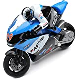The Flyer's Bay 2.4 Ghz Mini RC Bike (Blue)