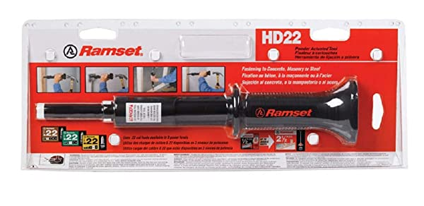 ITW Ramset 00022 HammerShot Low Velocity Powder Actuated Tool .22 Cal