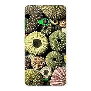 Sea Umbrella Shell Back Case Cover for Lumia 535