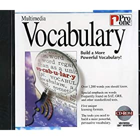 PRO ONE MULTIMEDIA VOCABULARY