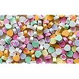 The Original Classic Flavor Necco Conversation Hearts 1 Lb Bag