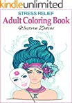 Stress Relief Adult Coloring Book: We...