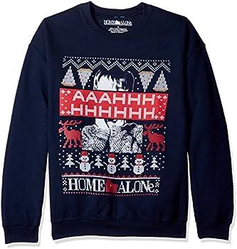 Home Alone Men's Aaahhh Ugly Christmas Sweatshirt
